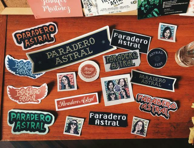 Stickers Paradero Astral